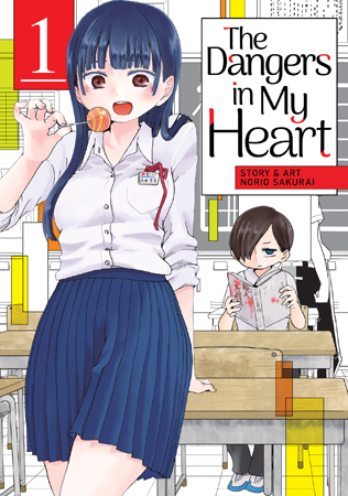 Featured image for The Dangers in My Heart Vol 1 Review