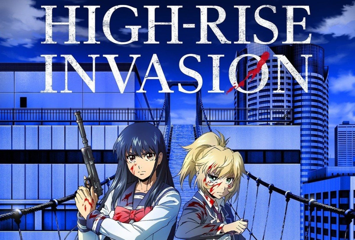 Featured image for Fragglepuss Anime Review 306: High-Rise Invasion / Tenkuu Shinpan