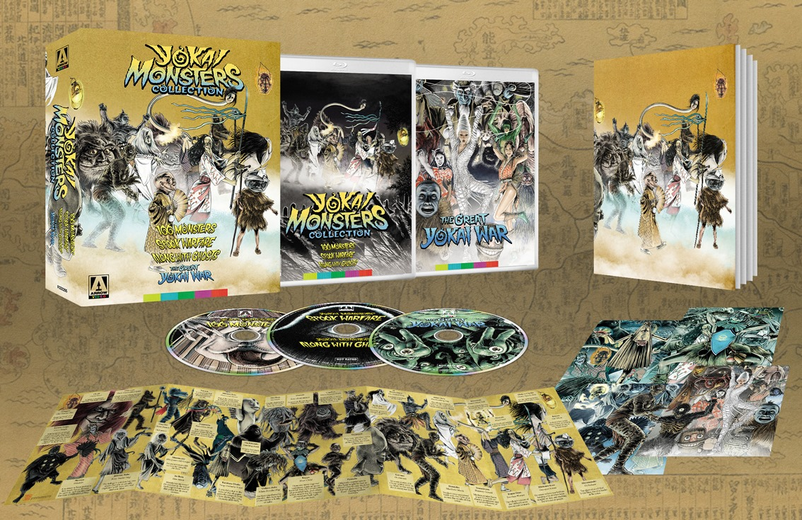 """Featured image for Arrow to Release Classic """"Yokai Monsters"""" Trilogy on Blu-ray!"""