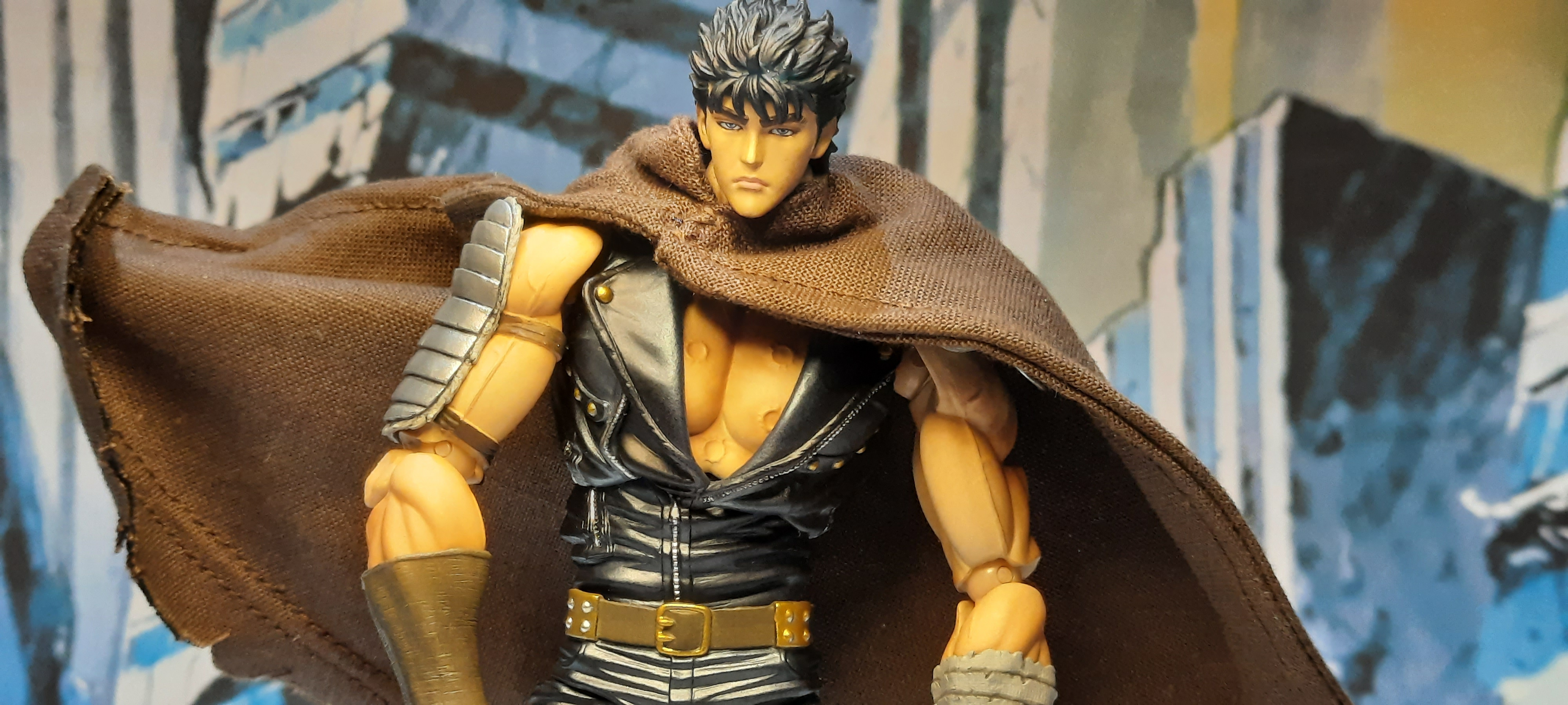 """Featured image for Action figure review: Fist of the North Star Kenshiro """"Super action statue"""""""