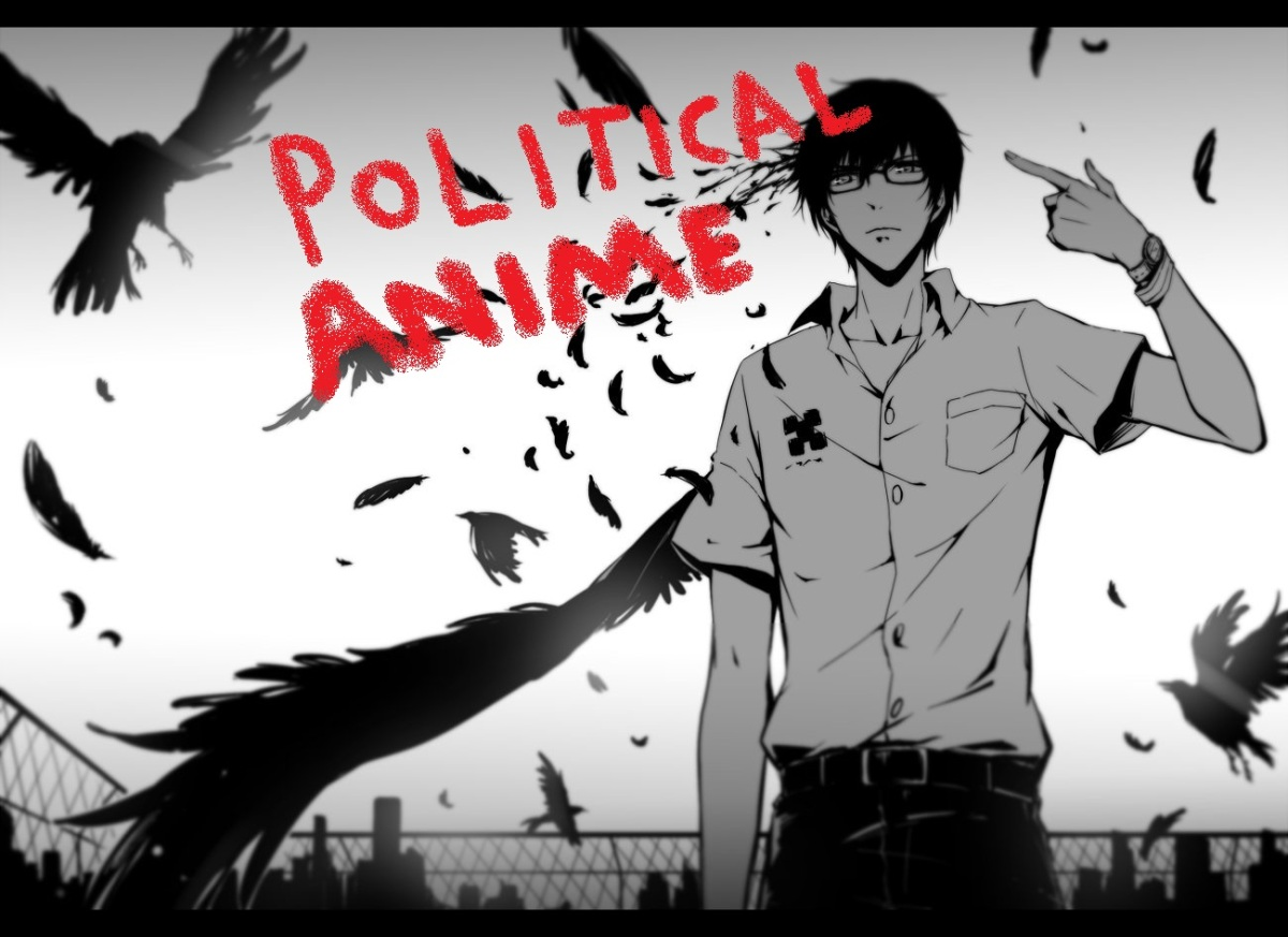"""Featured image for Sunday Select: 7 """"Political"""" Anime series"""