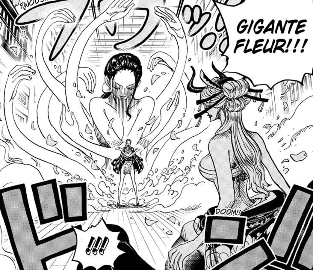 Featured image for One Piece Chapter 1020: Nico Robin takes on Black Maria