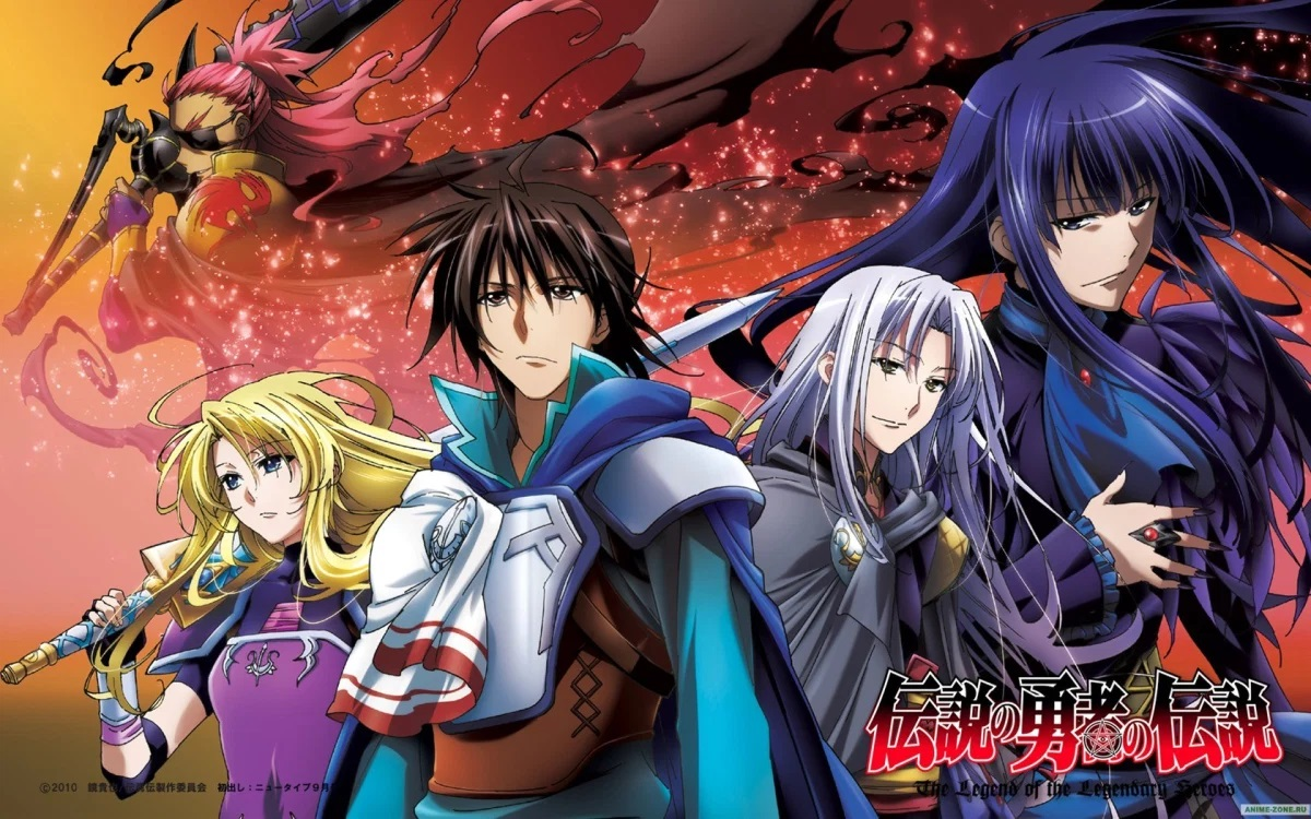 Featured image for Anime Series Like The Legend of the Legendary Heroes