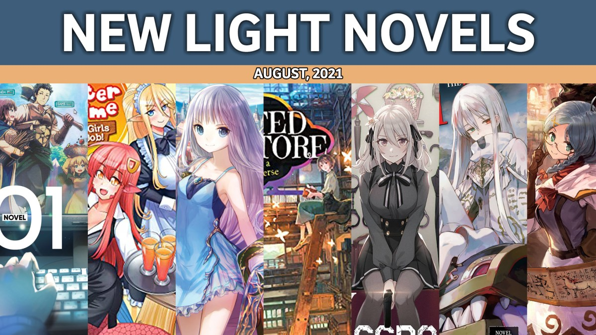 Featured image for Light Novel Debuts for August 2021