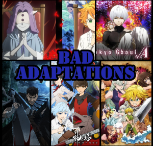 Featured image for Bad Adaptations – What makes an Adaptation Bad??