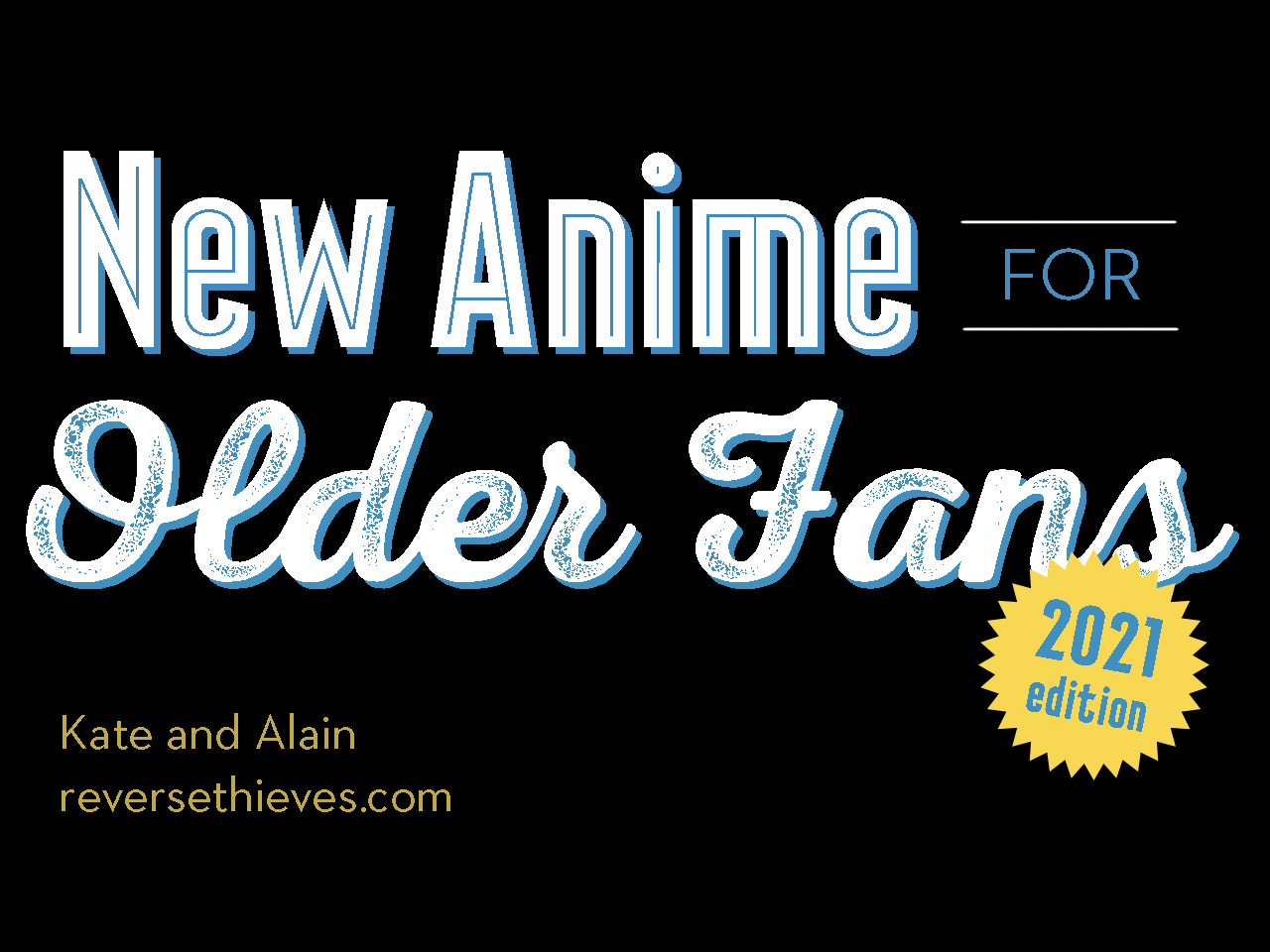 Featured image for New Anime for Older Fans Returns to Otakon 2021!