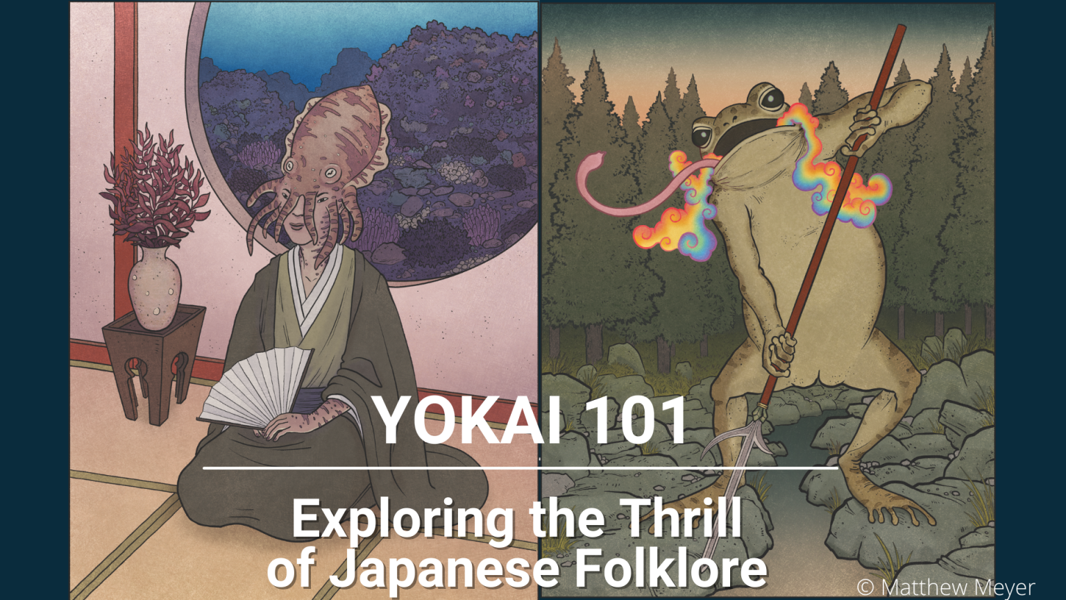 Featured image for Yōkai 101 Zoom Lecture