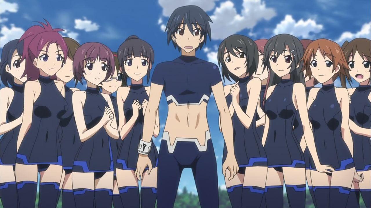 Featured image for Infinite Stratos: On the Wings of an Idiot