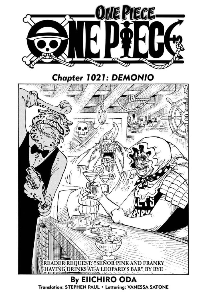 Featured image for One Piece Chapter 1021: Nico Robin becomes a demon child