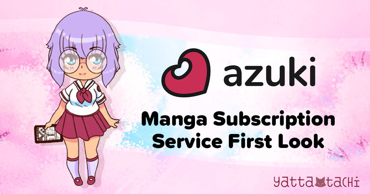 Featured image for Azuki Manga Subscription Service First Look