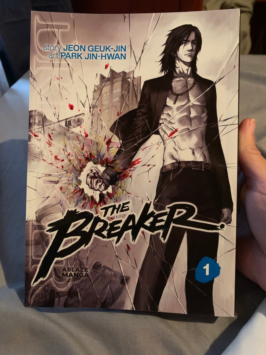 Featured image for My First Manhwa! The Breaker Omnibus 1 Review!