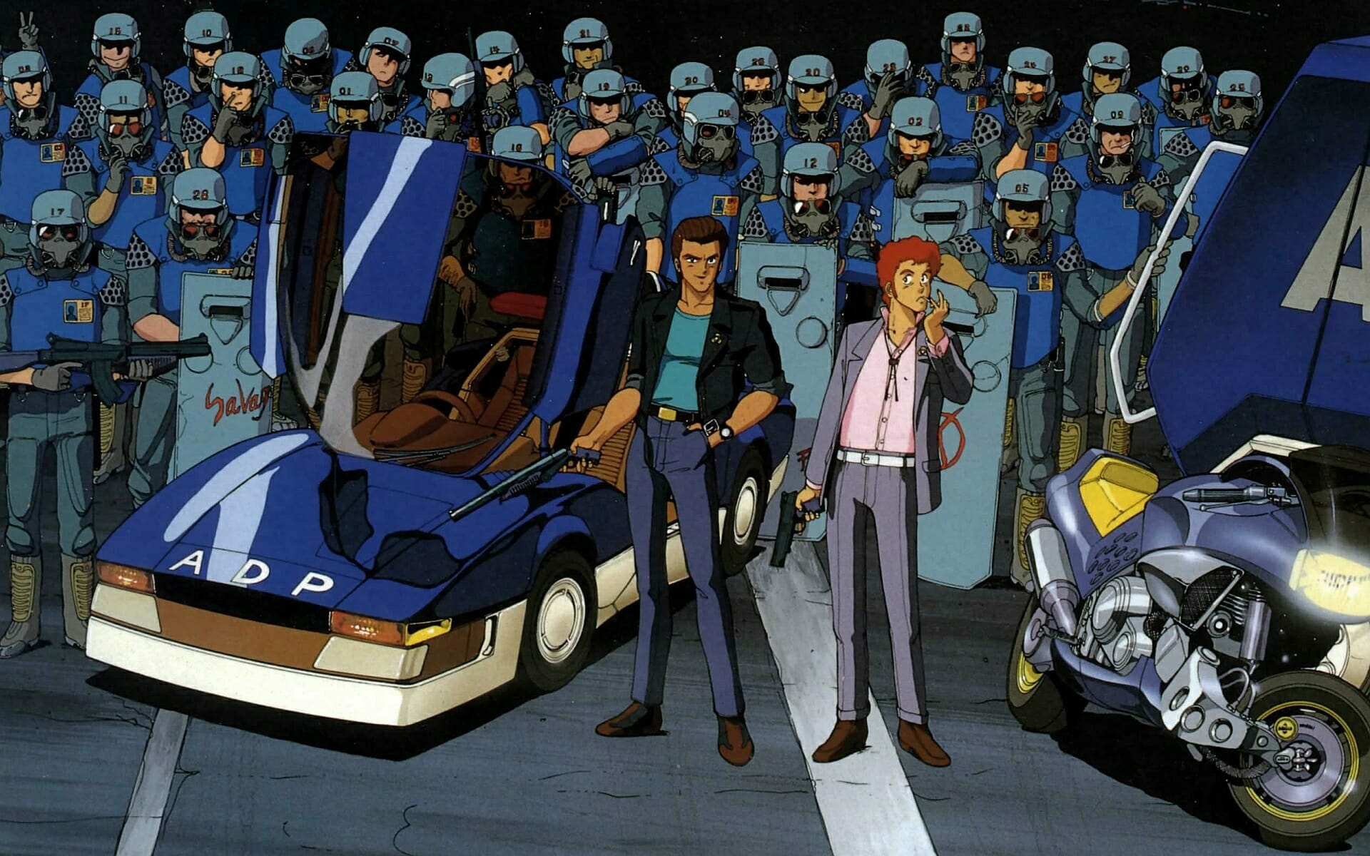 Featured image for The Strangely Sanitary Role of Police in Cyberpunk Anime