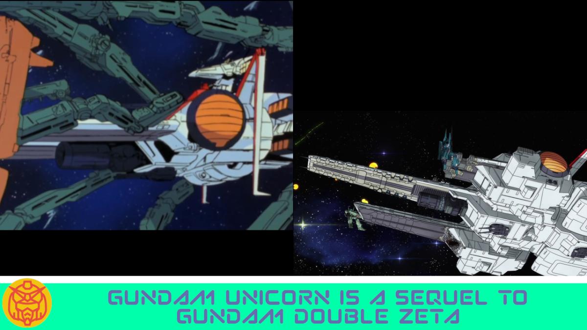Featured image for Gundam Unicorn is the sequel to Gundam Double Zeta