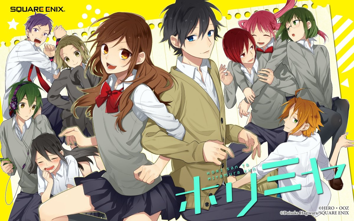 Featured image for Anime Review 202 Horimiya