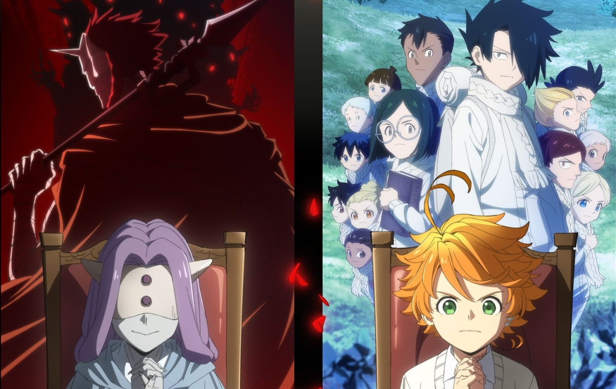 Featured image for Anime Review 203 The Promised Neverland Season 2