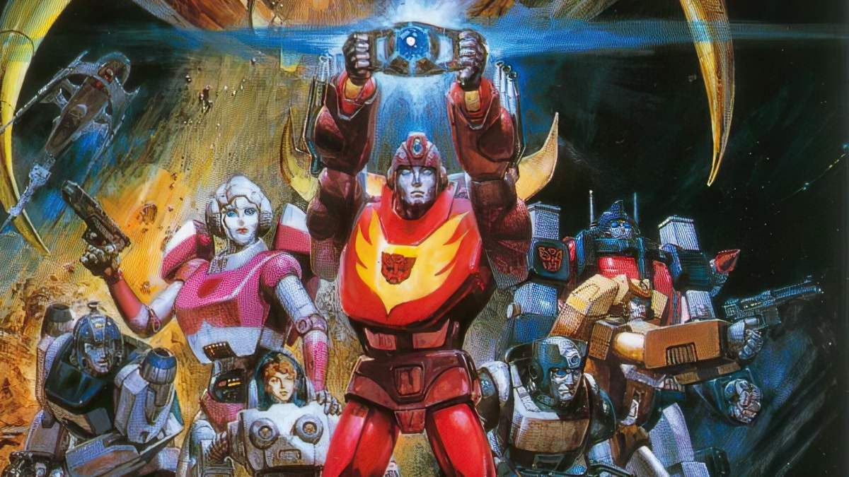 Featured image for Anime Review 205 The Transformers: The Movie 1986