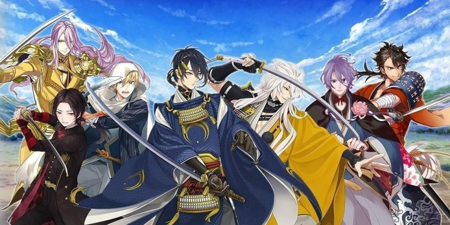 Featured image for Touken Ranbu Online Game Review: Simping for swords