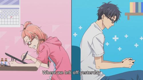 Featured image for Wotaku ni Koi wa Muzukashii Anime Review