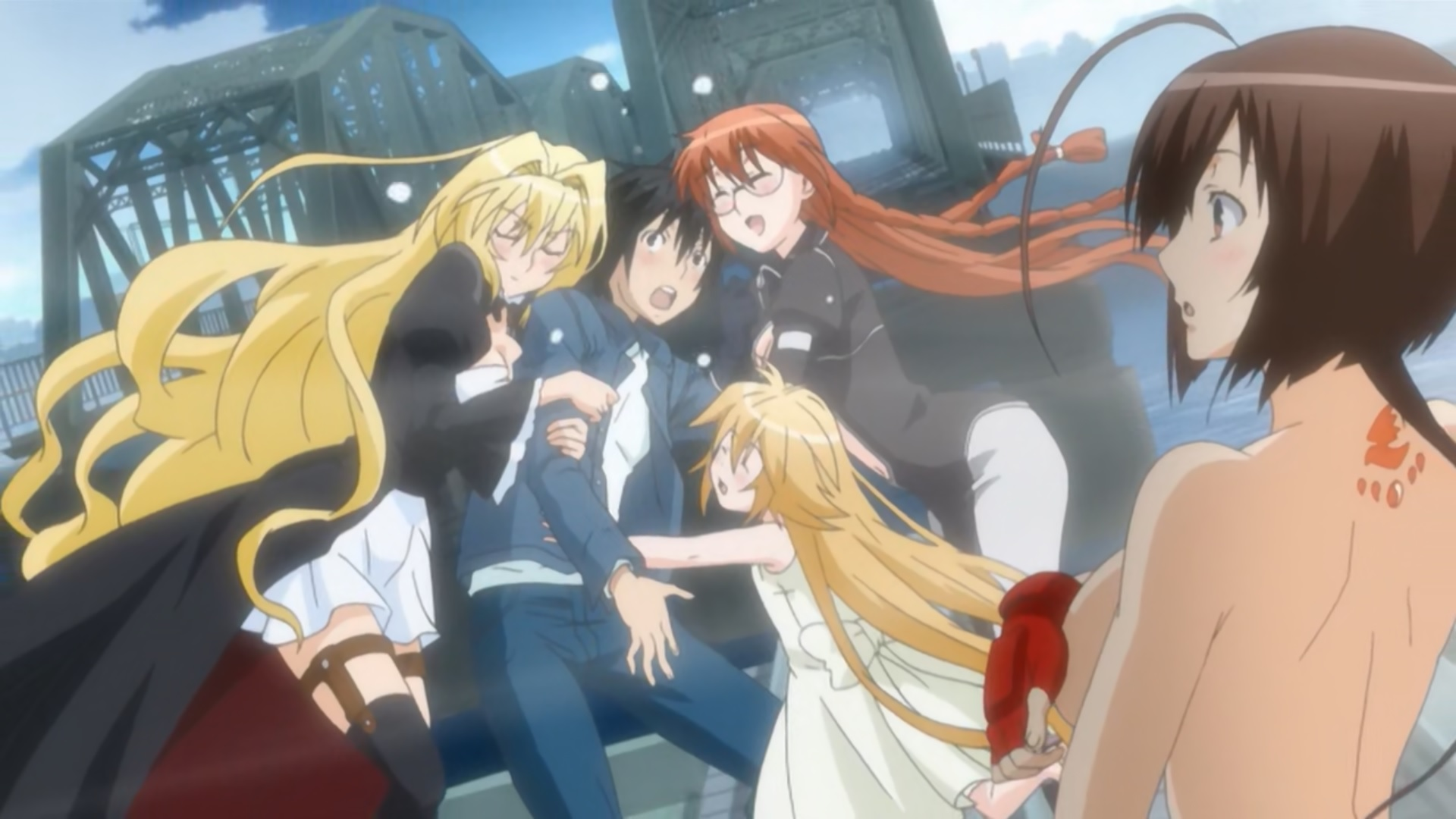 Featured image for The Anime Harem – How Many is too Many?