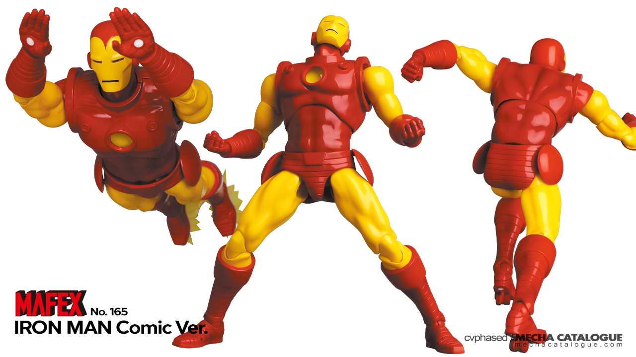 Featured image for Proton Freaking Cannon! MAFEX Iron Man (Comic Ver.)