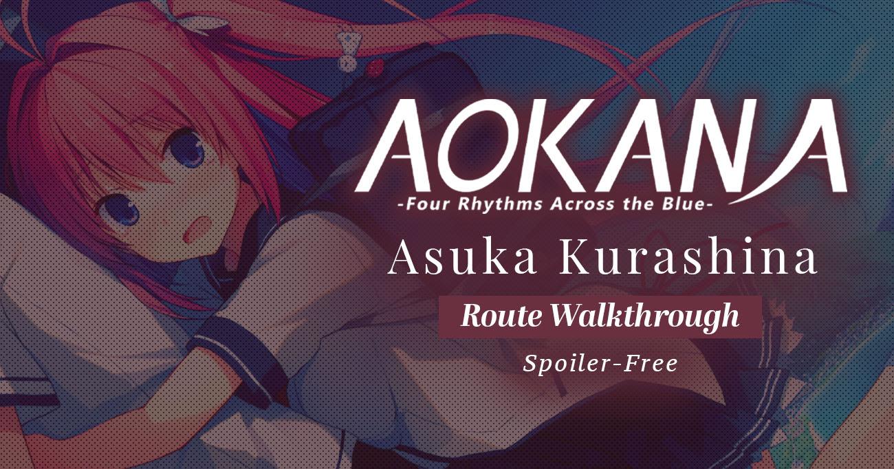 Featured image for Aokana – Asuka Kurashina Walkthrough