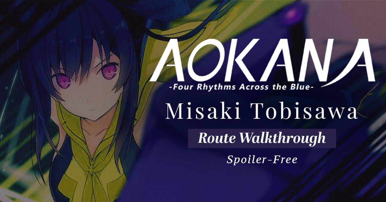 Featured image for Aokana – Misaki Tobisawa Walkthrough
