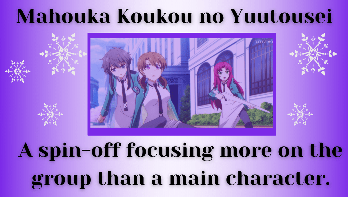 Featured image for Mahouka Koukou no Yuutousei – A spin-off focusing more on the group than a main character