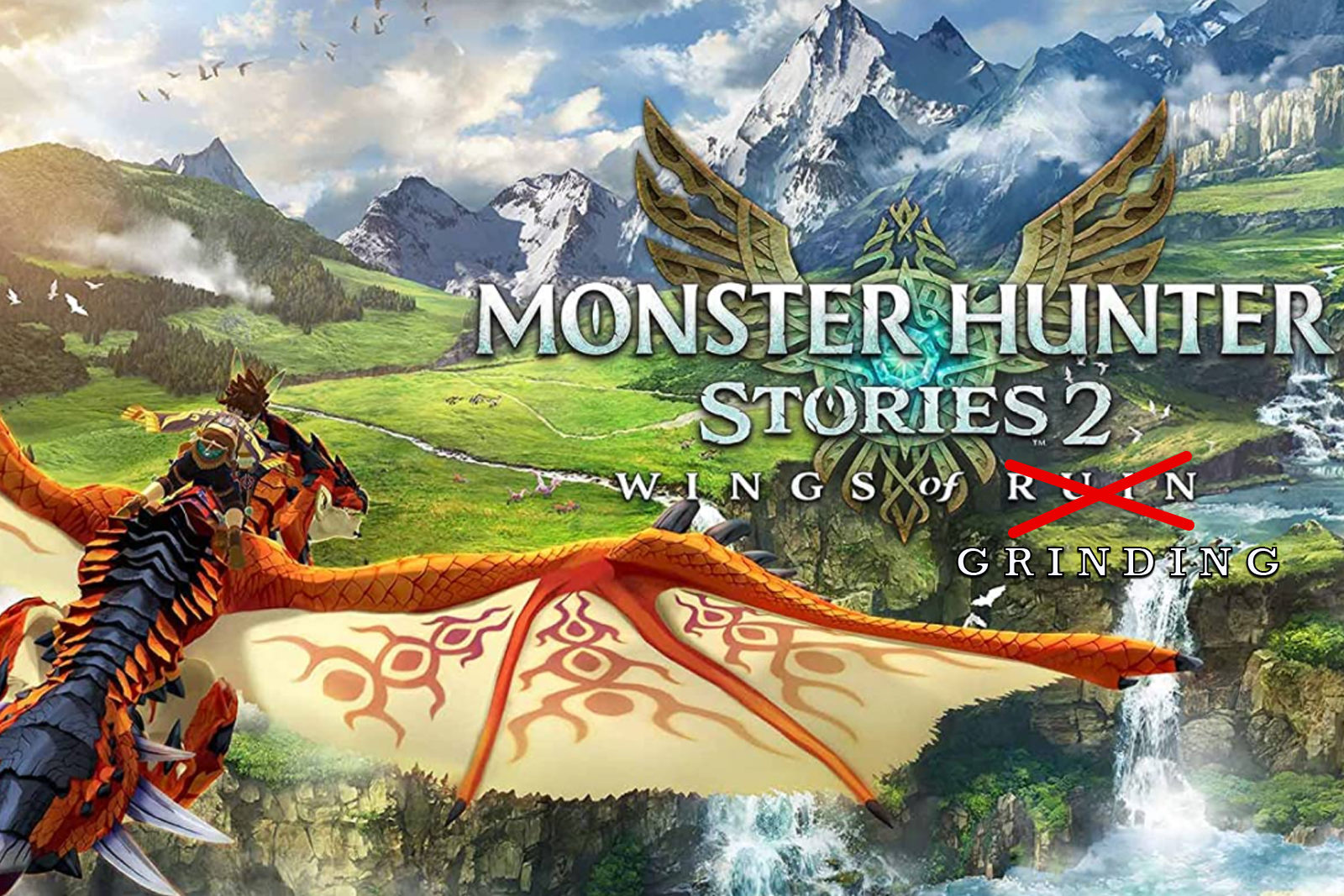 Featured image for Monster Hunter Stories 2 can Either be a Decent JRPG or a Min-Maxing Hellhole. Take Your Pick.