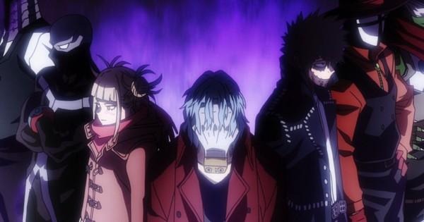 Featured image for Toga, Dabi, Re-Destro and Shigaraki: The Villains of My Hero Academia Season 5