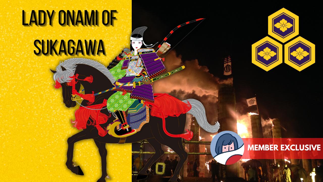 Featured image for The Indomitable Lady Onami of Sukagawa