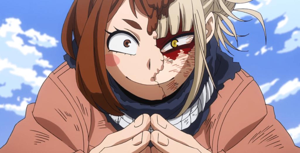 Featured image for My Hero Academia Season 5, Episode 21: The deranged smile of Himiko Toga