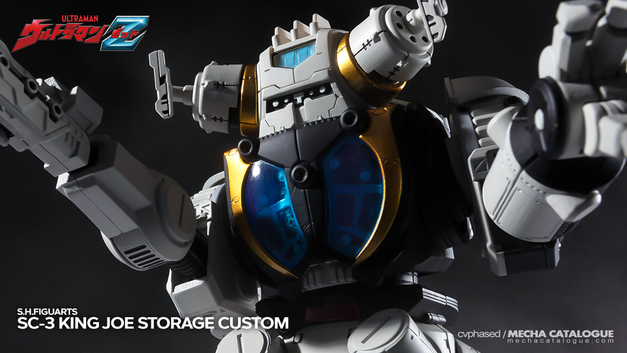 Featured image for Whatever Happened to Windom? S.H.Figuarts King Joe STORAGE Custom