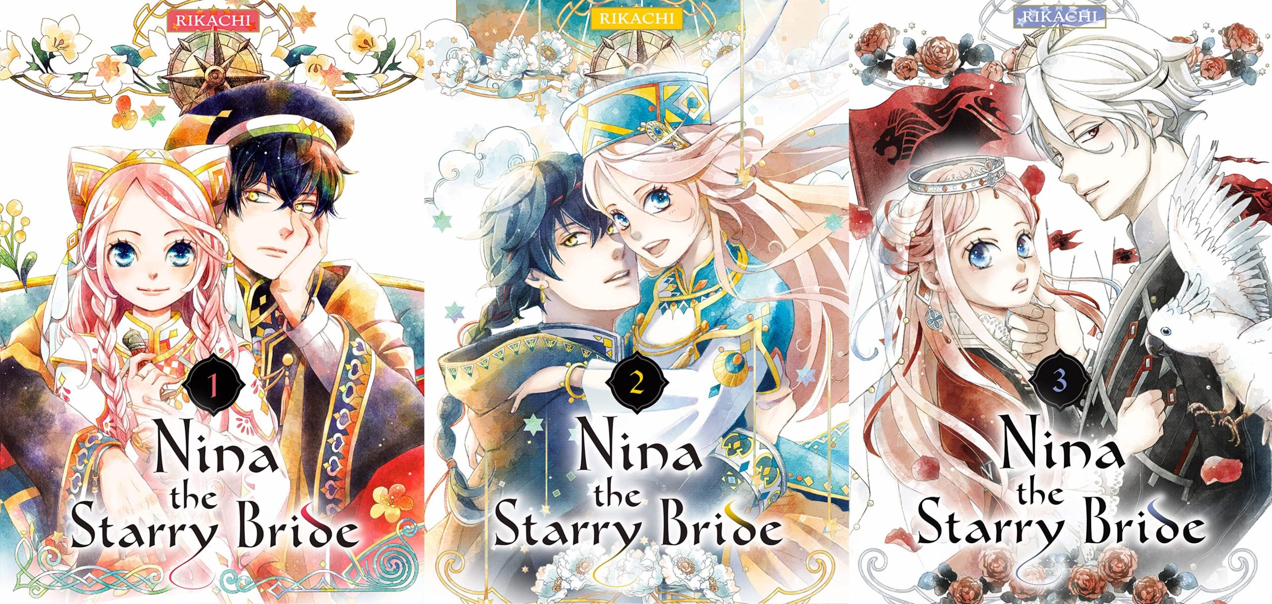 Featured image for Nina the Starry Bride Volumes 1-3 Review
