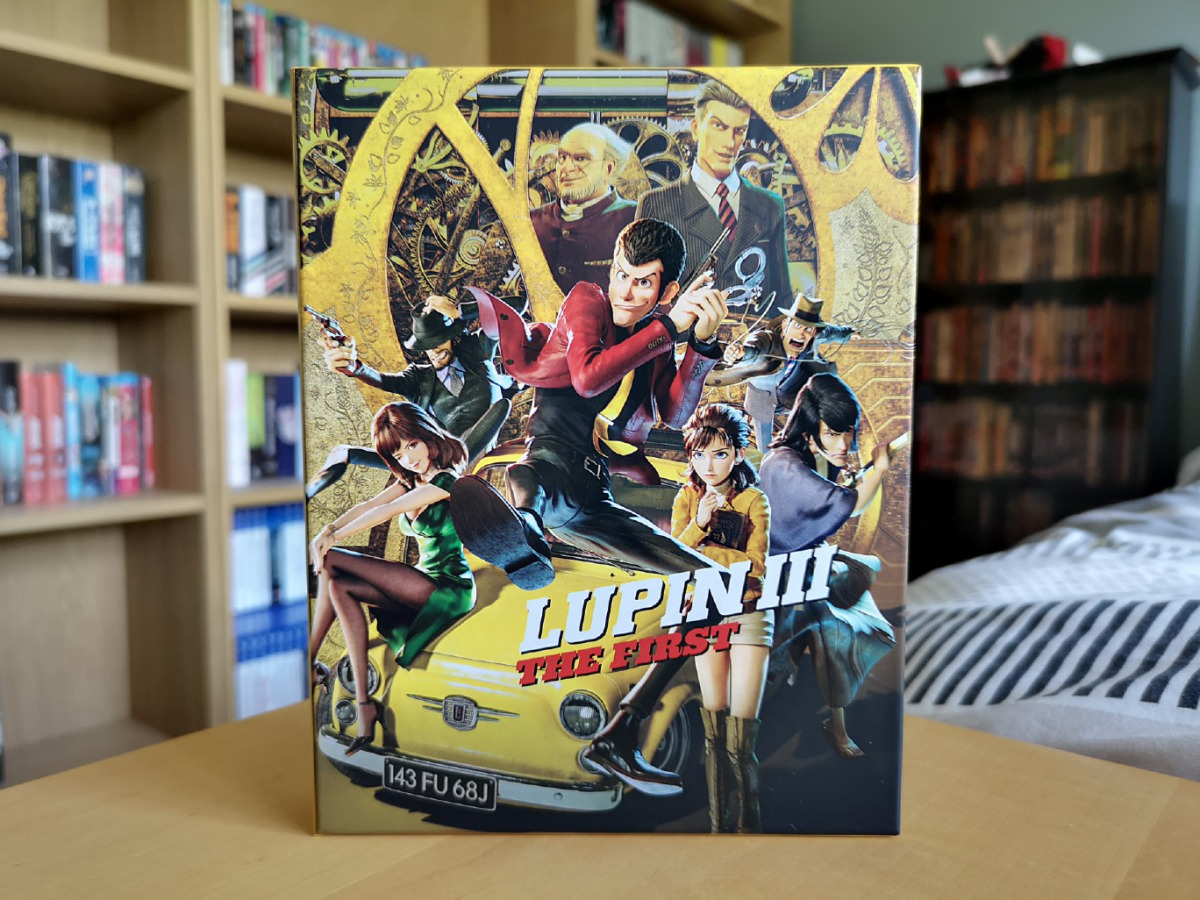 Featured image for Lupin III: The First (Collector's Edition Blu-ray & DVD) Unboxing