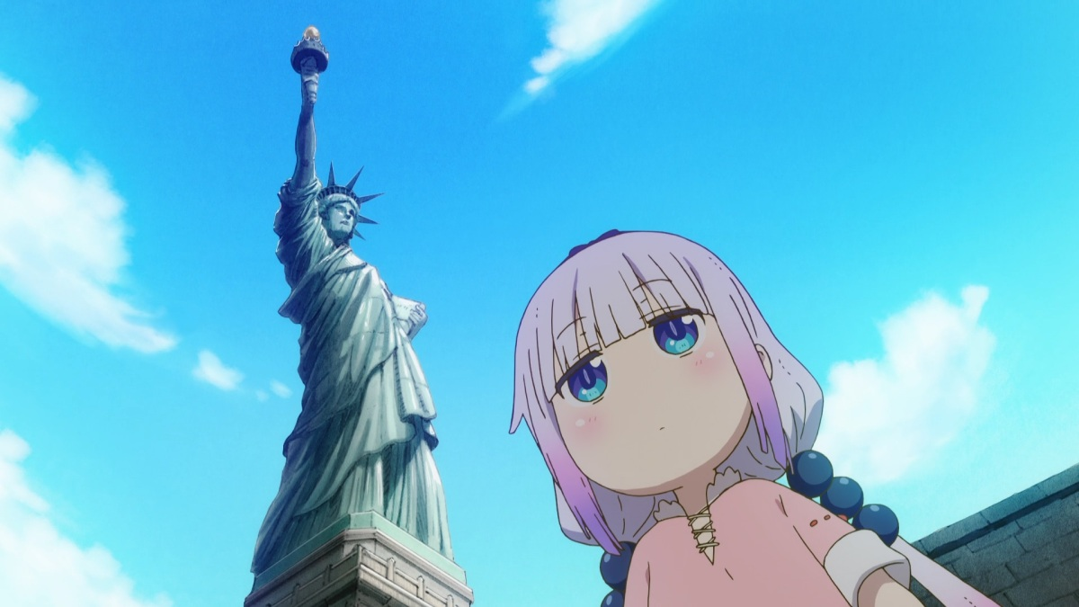 Featured image for Miss Kobayashi's Dragon Maid S Episode 10: Kanna in New York