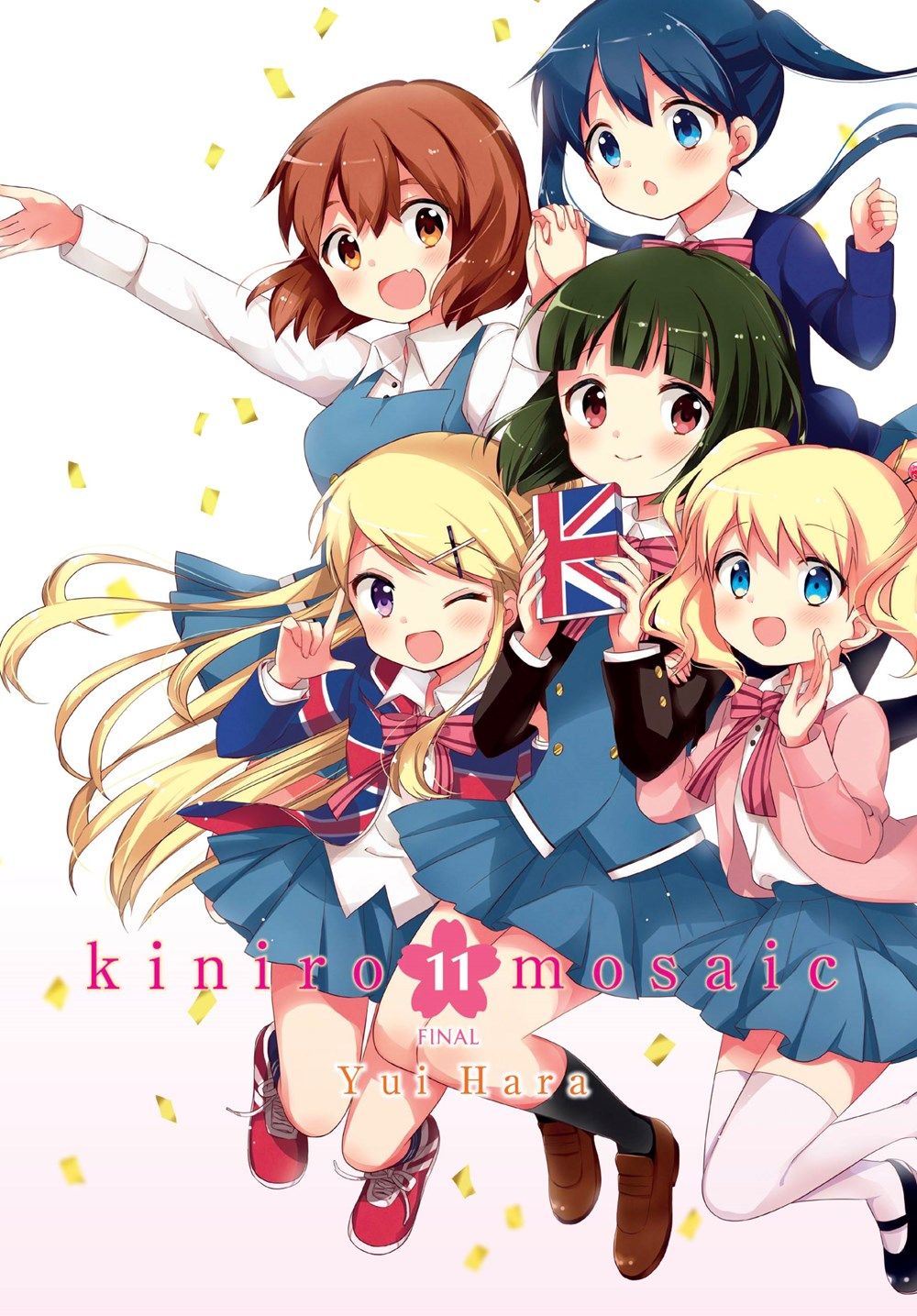 Featured image for Kiniro Mosaic Volume 11 Review