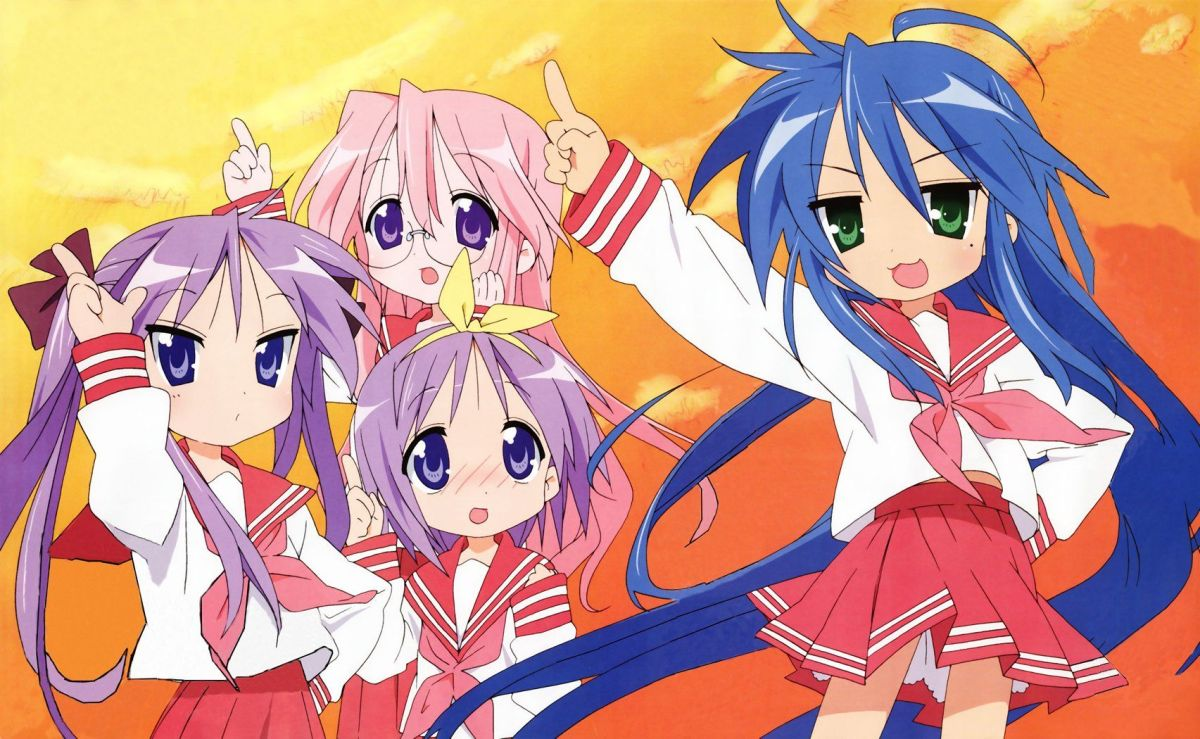 Featured image for Anime Review 197 Lucky Star