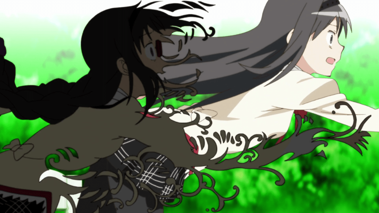 Featured image for Chatty AF 147: Puella Magi Madoka Magica Rewatchalong – Rebellion
