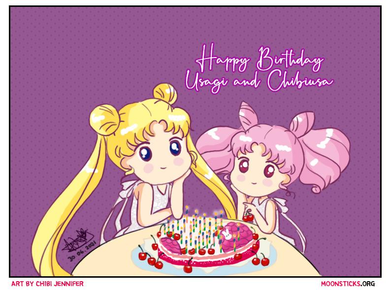 Featured image for Happy Birthday Usagi & Chibiusa
