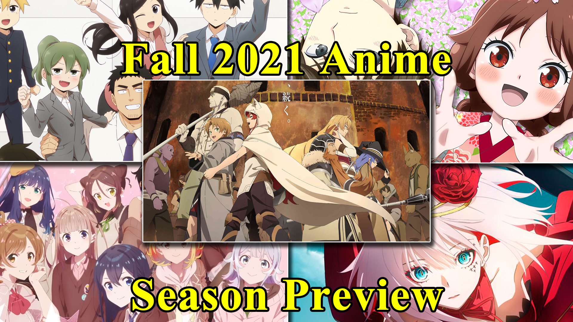 Featured image for Animecast: Fall 2021 Anime Season Preview
