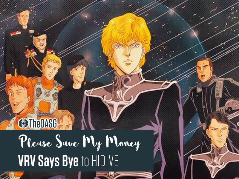 Featured image for VRV Says Bye to HIDIVE