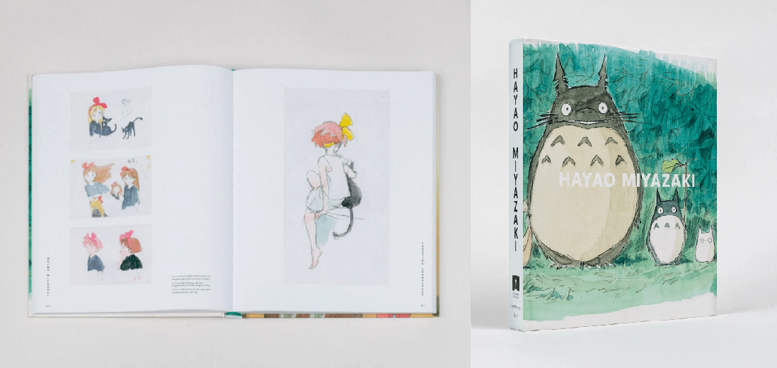 Featured image for Video Review: Hayao Miyazaki (Academy Museum of Motion Pictures Art Book)