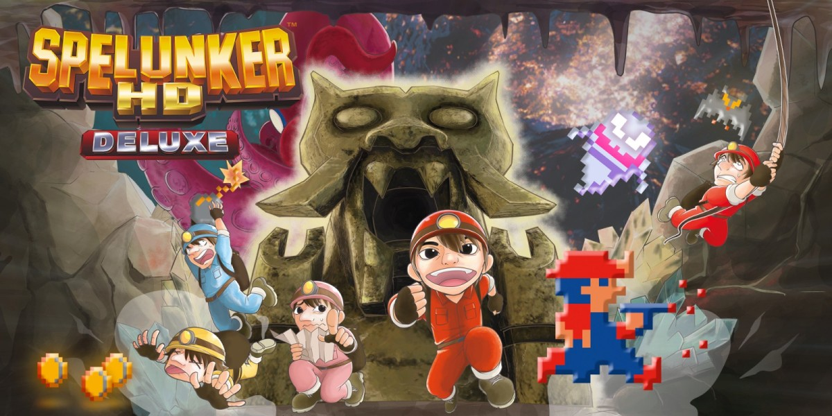 Featured image for Spelunker HD Deluxe Review Link