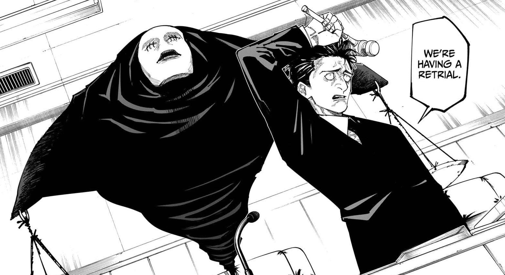 Featured image for Jujutsu Kaisen Chapter 159: Hiromi Higuruma's sense of judgement