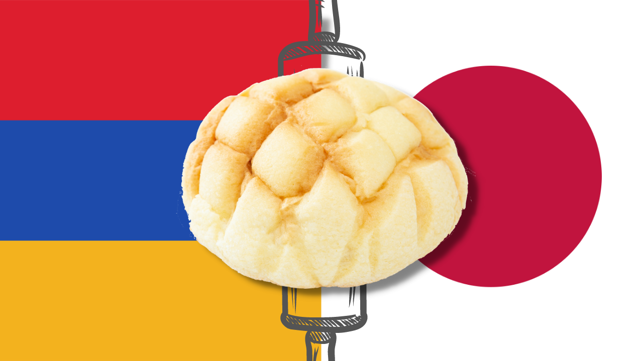 Featured image for Melonpan: the Bittersweet Armenian History of Japan's Beloved Sweet Bun