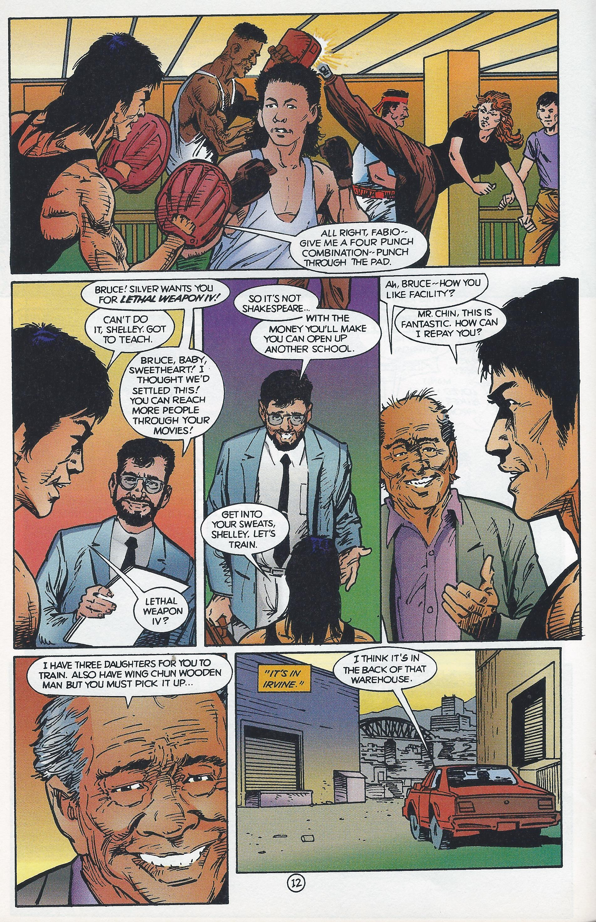 Featured image for Bruce Lee Comics (1994)
