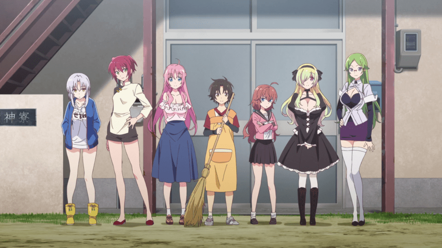 Featured image for Mother of Goddess Dormitory: Comedic Absurdity, with Ecchi