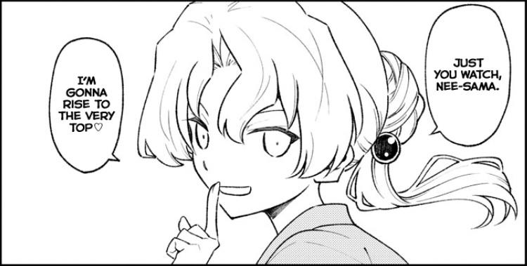 Featured image for Tonikaku Cawaii Chapter 154 (Tokiko's Past)
