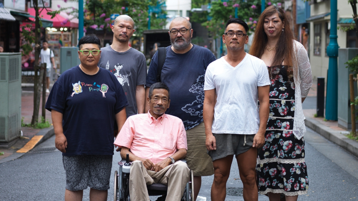 Featured image for Queer Japan (クィア・ジャパン, Graham Kolbeins, 2019)