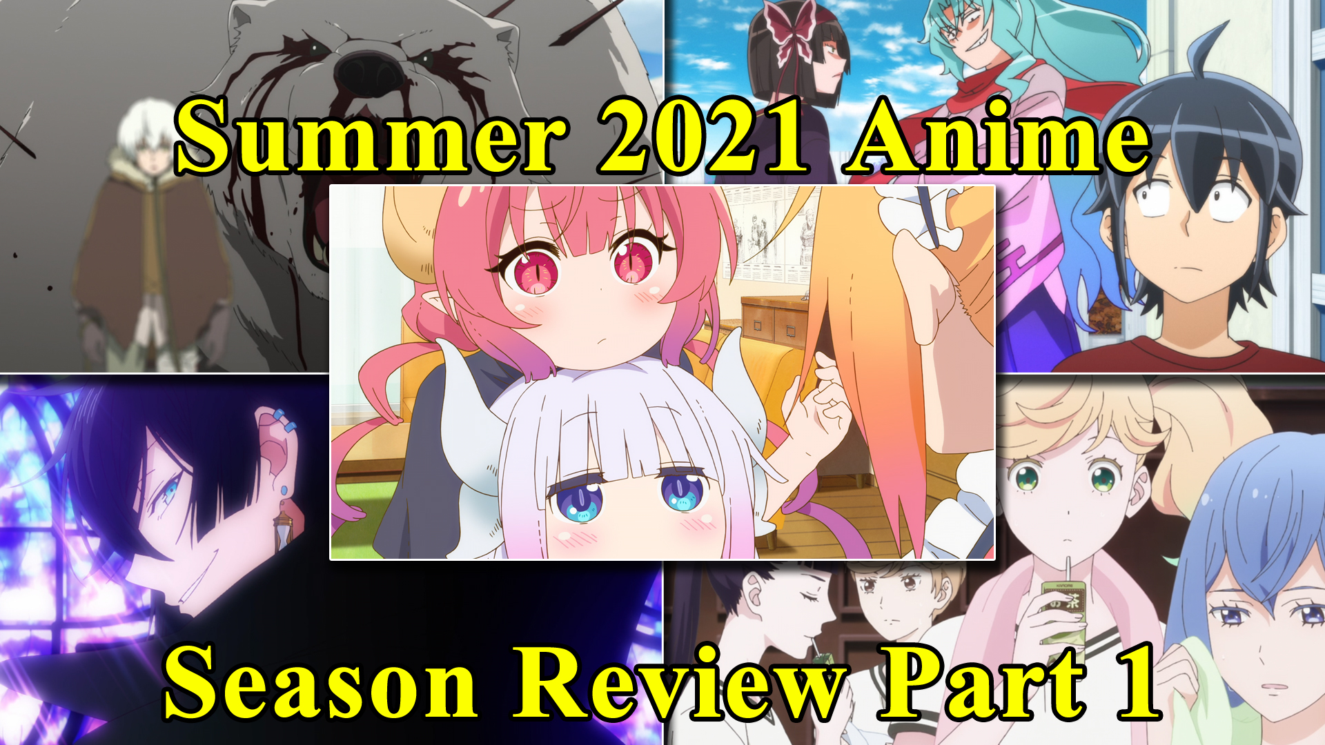 Featured image for Animecast: Summer 2021 Anime Season Review Part 1